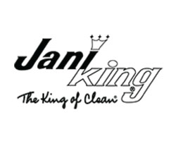 Jani King - The King of Clean Logo